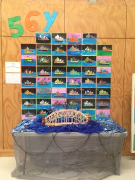 56Y Arts Week Display