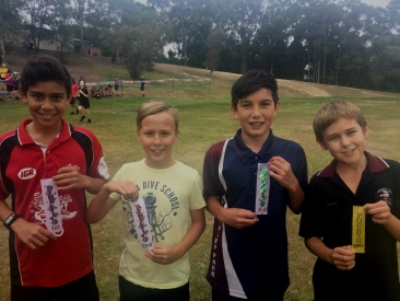 800m Winners 2003 Boys