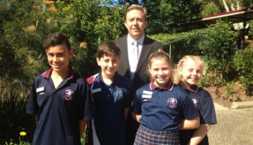New Principal meets Student Leaders